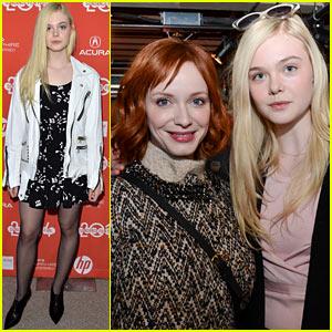 Elle Fanning: 'Low Down' Sundance Film Festival Premiere!