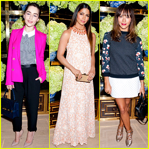 Emilia Clarke & Camila Alves: Tory Burch Flagship Store Opening!