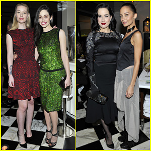 Emmy Rossum & Iggy Azalea: Antonio Berardi Private Dinner!