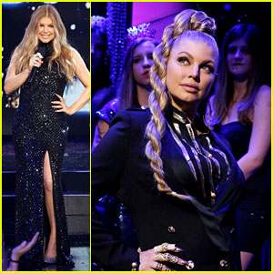 Fergie: Braided Hair for Dick Clark's New Year's Rockin' Eve!