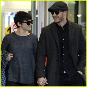Ginnifer Goodwin & Josh Dallas Look So in Love in Vancouver!