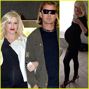 Gwen Stefani Displays Huge Baby Bump in New Pic!