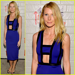 Gwyneth Paltrow Rocks Cut-Out Dress to Stand Up to Cancer