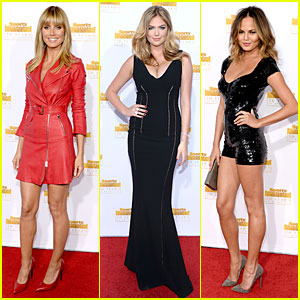 Heidi Klum & Kate Upton: 'SI' 50th Anniversary Swimsuit Party!