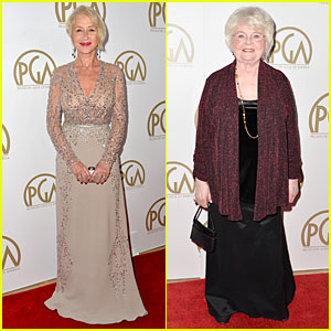 Helen Mirren & June Squibb - Producers Guild Awards 2014