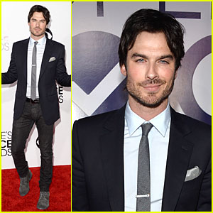 Ian Somerhalder - People's Choice Awards 2014 Red Carpet