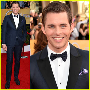 James Marsden - SAG Awards 2014 Red Carpet