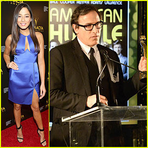 Jessica Gomes & David O. Russell: AACTA Awards 2014!