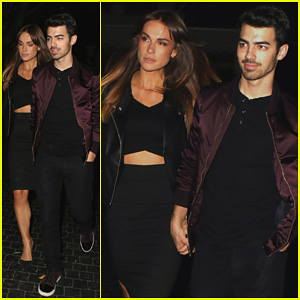 Joe Jonas: Chateau Night Out with Blanda Eggenschwiler!