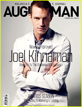 Joel Kinnaman Covers 'August Man Malaysia' February 2014