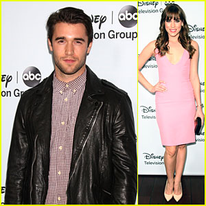 Josh Bowman & Christa B. Allen: ABC Winter TCA Party!