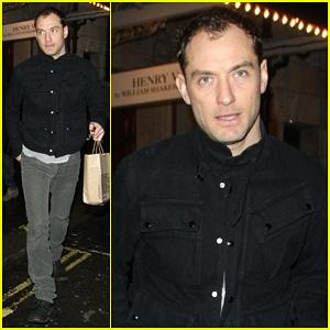 Jude Law: 'My Children Keep Me Sane'