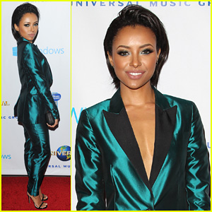 Kat Graham - Universal Music Grammys 2014 After Party
