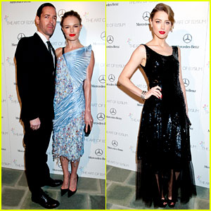 Kate Bosworth & Amber Heard - Art of Elysium Heaven Gala