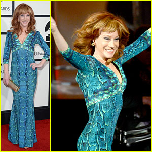 Kathy Griffin Finally Wins Grammy for Best Comedy Album!