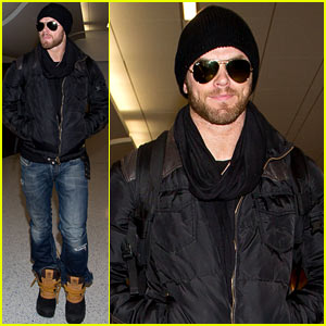 Kellan Lutz Back in Los Angeles After Sundance Film Festival