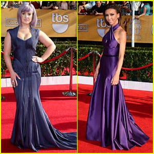 Kelly Osbourne & Giuliana Rancic - SAG Awards 2014 Red Carpet