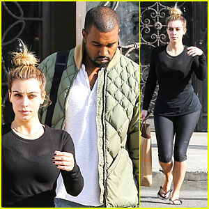Kim Kardashian & Kanye West Shop Together After New Year!