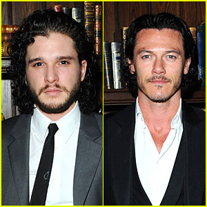 Kit Harington & Luke Evans: London Collections 'Esquire' Party!