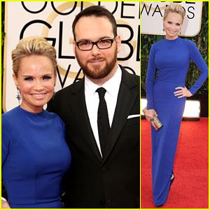 Kristin Chenoweth Supports Dana Brunetti at Golden Globes 2014