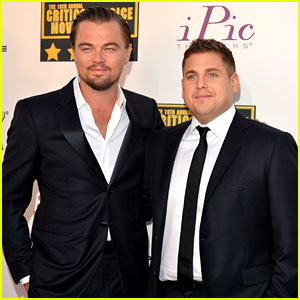 Leonardo DiCaprio & Jonah Hill - Critics' Choice Awards 2014