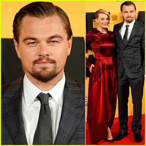 Leonardo DiCaprio & Margot Robbie: 'Wolf of Wall Street' UK Premiere