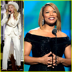 2014 video madonna performs open your heart at grammys 2014 videoQueen Latifah 2014 Grammys