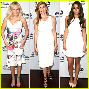 Malin Akerman & Connie Britton: ABC's Winter TCA Party!