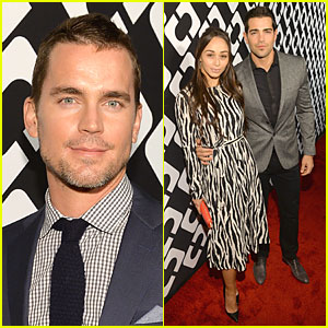 Matt Bomer & Jesse Metcalfe: Journey of a Dress Exhibition Opening!