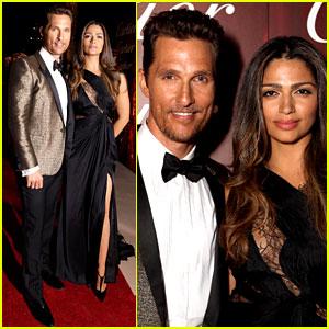 Matthew McConaughey & Camila Alves - Palm Springs Film Festival Awards Gala 2014