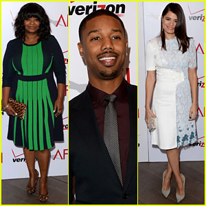Michael B. Jordan & Octavia Spencer - AFI Awards 2014