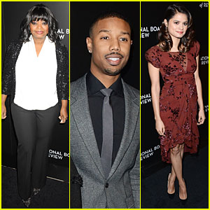 Michael B. Jordan & Octavia Spencer - NBR Awards Gala 2014