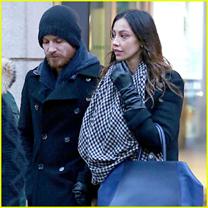 Michael Fassbender & Madalina Ghenea Hold Hands in Italy!