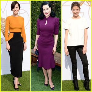 Michelle Dockery & Anna Kendrick: LoveGold's Glamour Event!