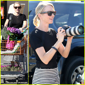 Naomi Watts: Landscaping Lady in Culver City!