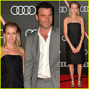Naomi Watts & Liev Schreiber: Audi's Pre-Golden Globes Party!