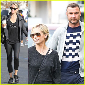 Liev Schreiber & Sarah Michelle Gellar Reunite for Lunch!
