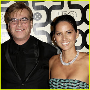 Olivia Munn & Aaron Sorkin: No Conflict on 'The Newsroom' Set!