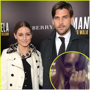 Olivia Palermo Engaged to Johannes Huebl - See the Ring!