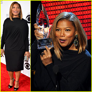 Queen Latifah Wins Big at the People's Choice Awards 2014!
