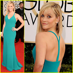 Reese Witherspoon - Golden Globes 2014 Red Carpet