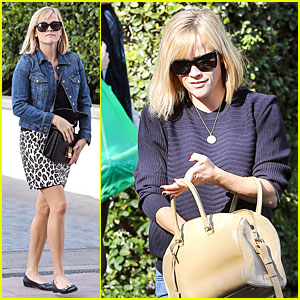 Reese Witherspoon: Leopard Print Babe Before Golden Globes!