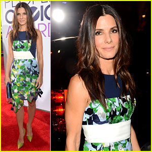 Sandra Bullock - People's Choice Awards 2014 Red Carpet