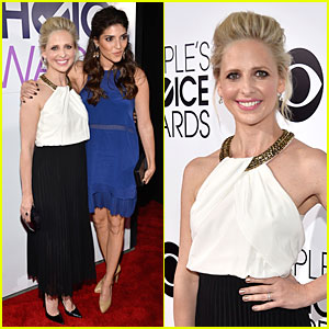 Sarah Michelle Gellar & Amanda Setton - People's Choice Awards 2014