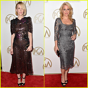 Sarah Paulson & Gillian Anderson - Producers Guild Awards 2014