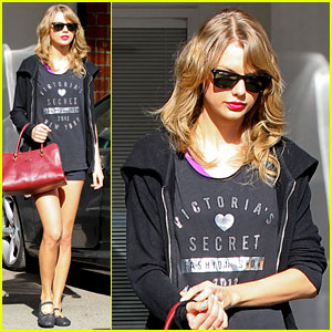 Taylor Swift Shows Her Victoria's Secret Pride at the Gym!