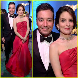 Tina Fey & Jimmy Fallon - NBC Golden Globes After Party 2014