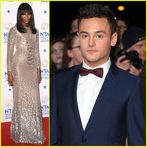 Tom Daley & Naomi Campbell: National Television Awards 2014!