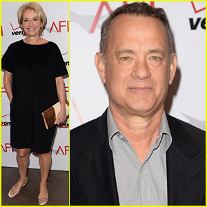 Tom Hanks & Emma Thompson - AFI Awards Luncheon 2014