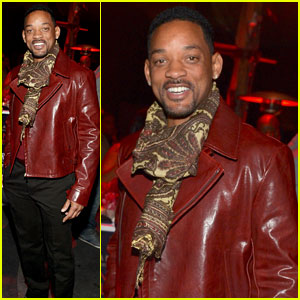 Will Smith Attends Midnight Grammy Brunch 2014